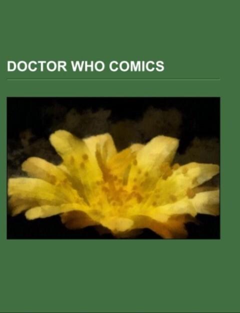 Doctor Who comics als Taschenbuch von