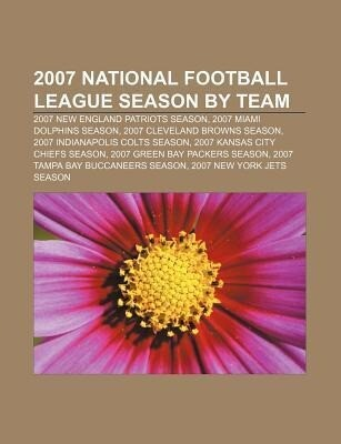 2007 National Football League season by team al...