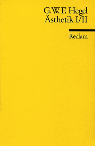 Ästhetik, I/II als Taschenbuch