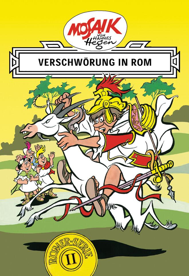 Die Digedags. Römer-Serie 02. Verschwörung in Rom als Buch