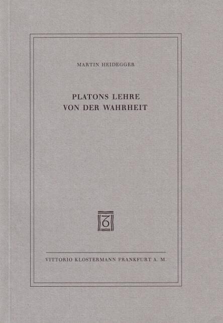 Platons Lehre von der Wahrheit als Buch