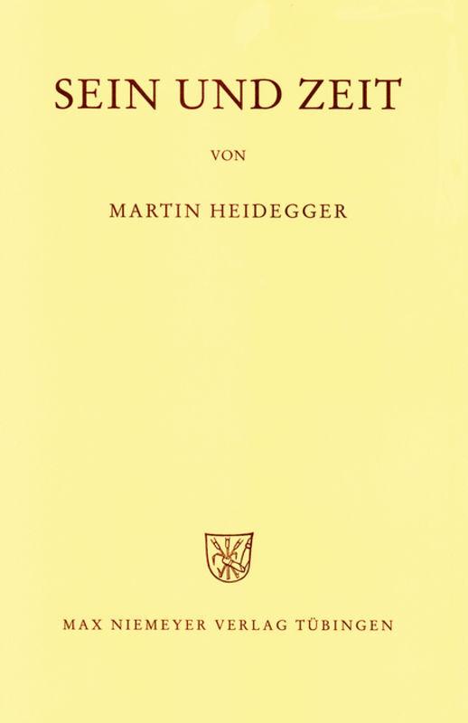 Gesamtausgabe Abt. 1 Veröffentlichte Schriften Bd. 2. Sein und Zeit als Buch (gebunden)
