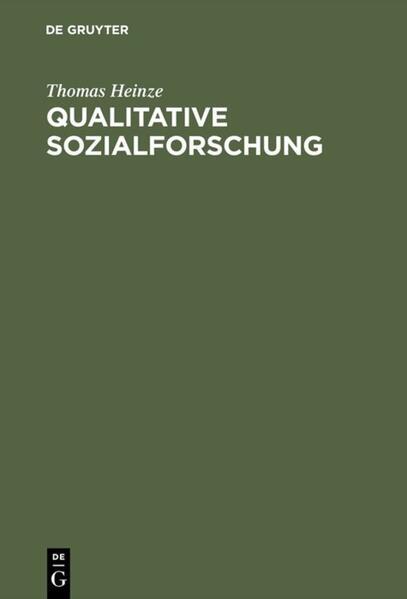 Qualitative Sozialforschung als Buch