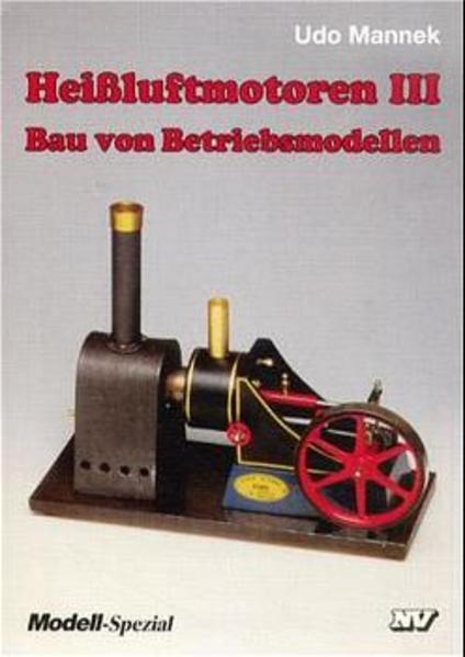 Heißluftmotoren 3 als Buch