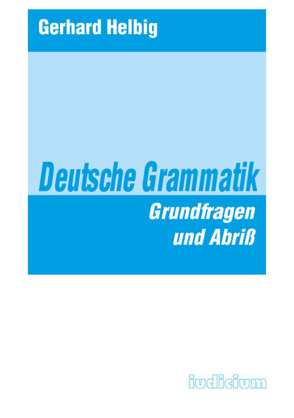 Deutsche Grammatik als Buch