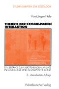 Theorie der Symbolischen Interaktion