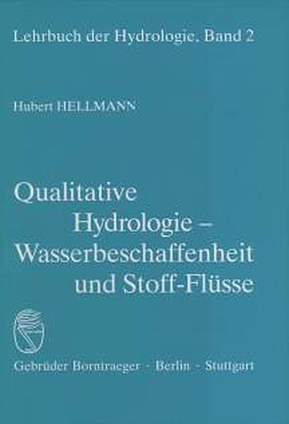 Qualitative Hydrologie als Buch