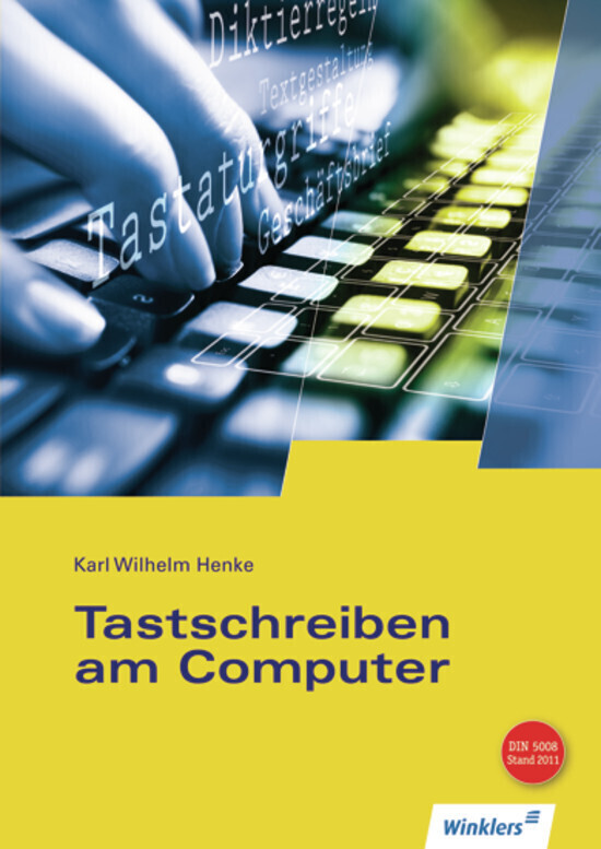 Tastschreiben am Computer als Buch