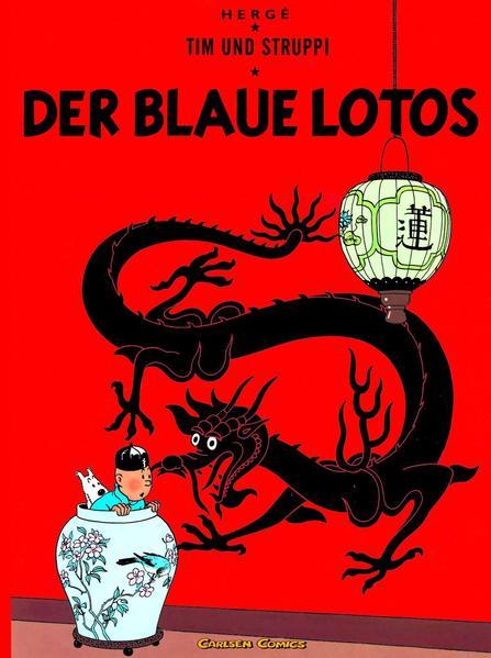 Tim und Struppi 04. Der Blaue Lotos als Buch (kartoniert)