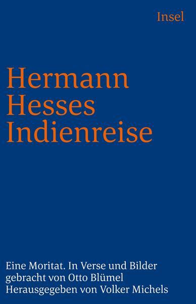 Hermann Hesses Indienreise. Großdruck als Taschenbuch