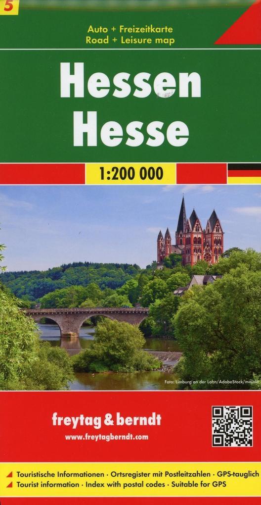 Deutschland 05 Hessen 1 : 200 000 als Buch