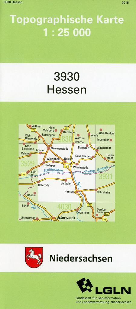 Hessen 1 : 25 000 als Buch