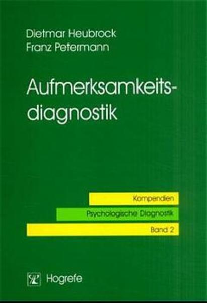 Aufmerksamkeitsdiagnostik als Buch