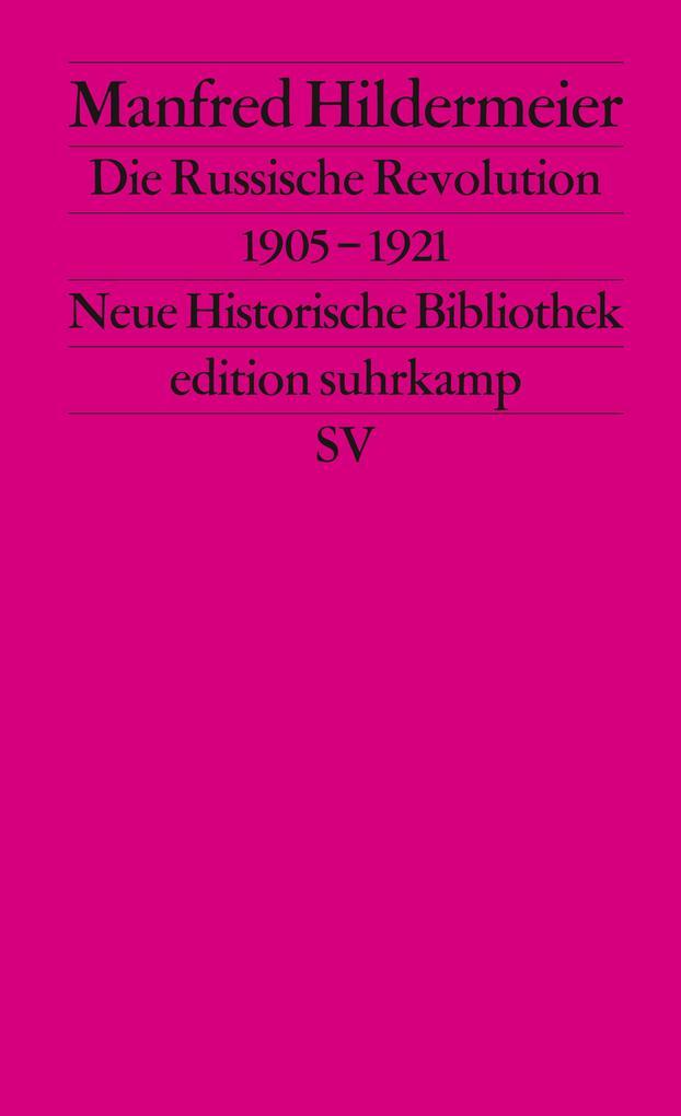 Die Russische Revolution 1905 - 1921 als Taschenbuch