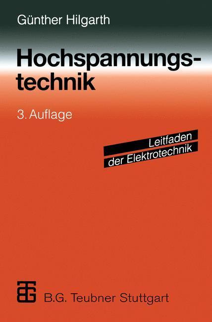 Hochspannungstechnik als Buch