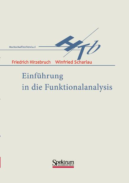 Einführung in die Funktionalanalysis als Buch