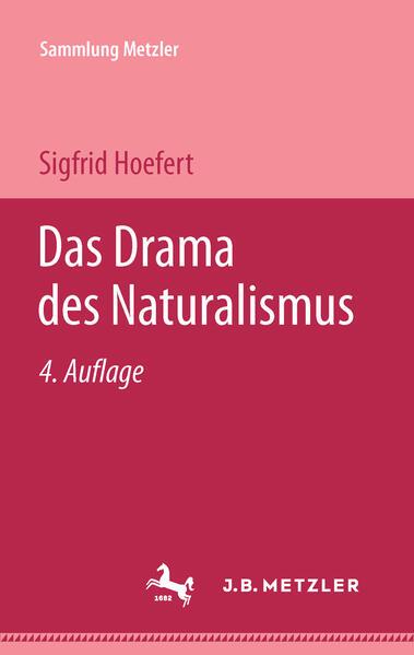 Das Drama des Naturalismus als Taschenbuch