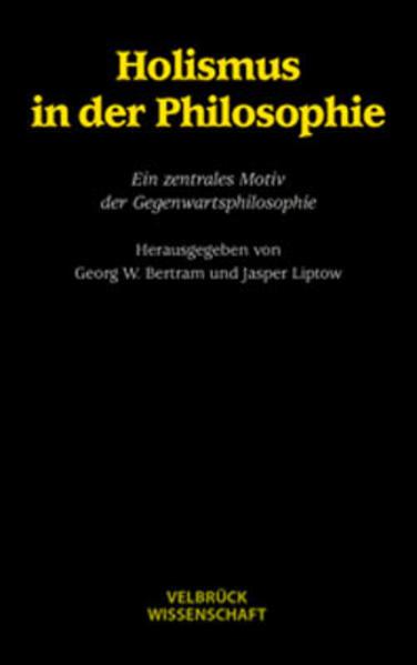 Holismus in der Philosophie als Buch