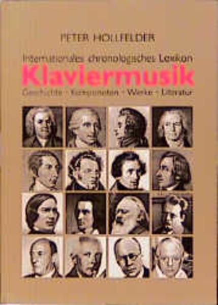 Internationales chronologisches Lexikon Klaviermusik als Buch (gebunden)