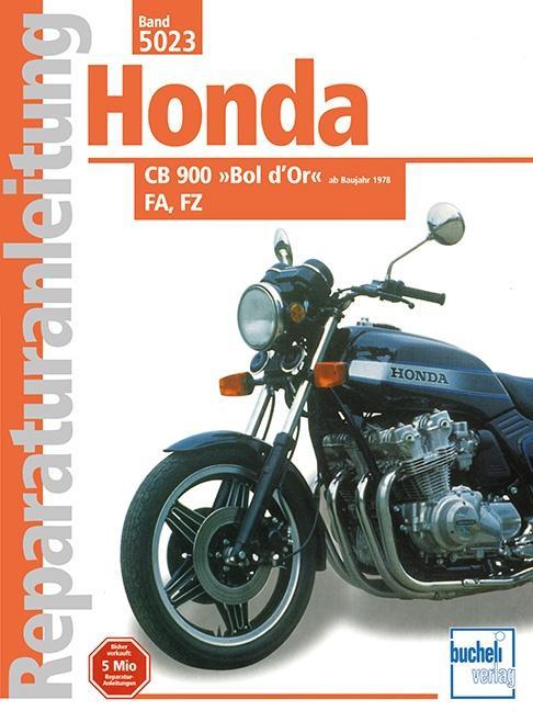 Honda CB 900 Bol d'or FA/FZ ab 1978 als Buch
