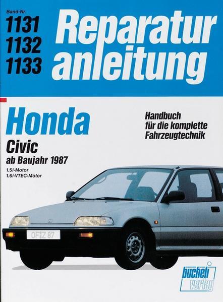 Honda Civic ab Baujahr 1987 als Buch