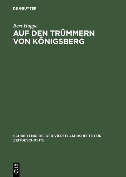 Auf den Trümmern von Königsberg als Buch (kartoniert)