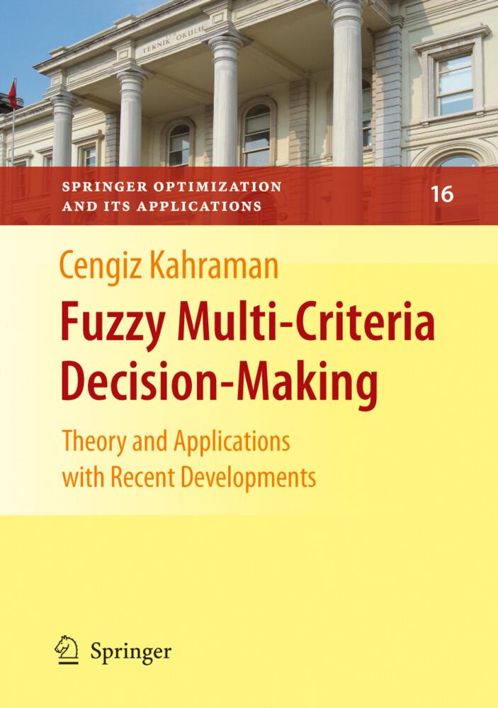 Fuzzy Multi-Criteria Decision Making als Buch von
