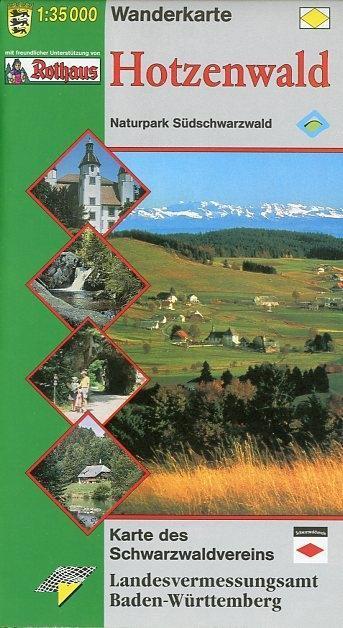 LGL BW 35 000 Wander Hotzenwald Wanderkarte als Buch
