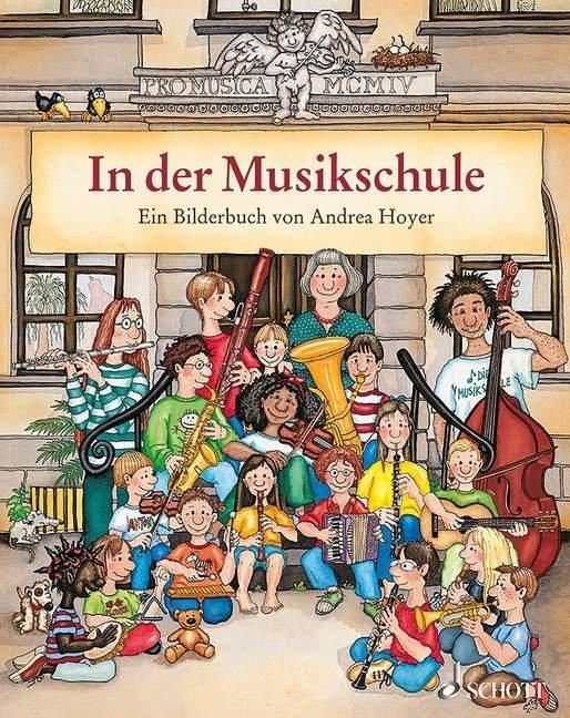 In der Musikschule als Buch