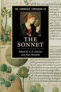 The Cambridge Companion to the Sonnet. Edited by A.D. Cousins and Peter Howarth