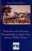 Nachricht von der Britischen Gesandtschaftsreise nach China 1792-94