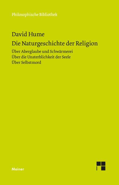 Die Naturgeschichte der Religion als Buch