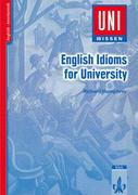 English Idioms for University