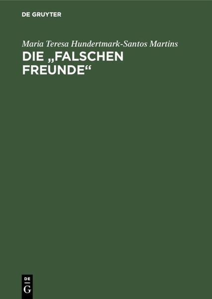 Falsos Amigos /Falsche Freunde als Buch (kartoniert)