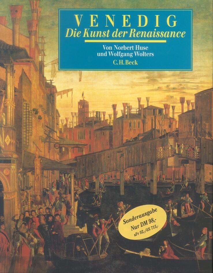 Venedig, die Kunst der Renaissance als Buch