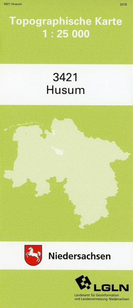 Husum 1 : 25 000. (TK 3421/N) als Buch
