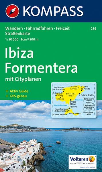 Ibiza, Formentera 1 : 50 000 als Buch