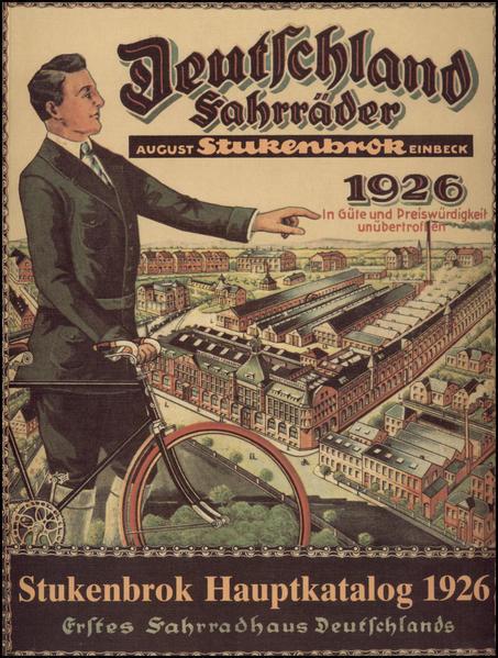 Illustrierter Hauptkatalog II 1926, August Stukenbrok, Einbeck als Buch