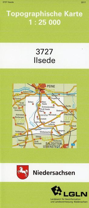 Ilsede 1 : 25 000 als Buch
