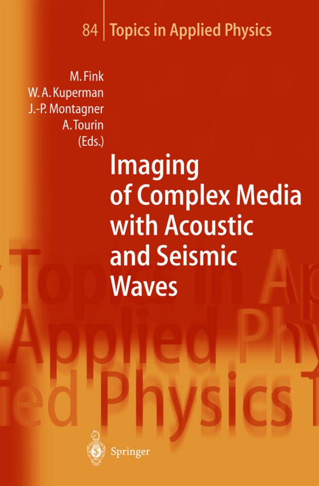 Imaging of Complex Media with Acoustic and Seismic Waves als Buch