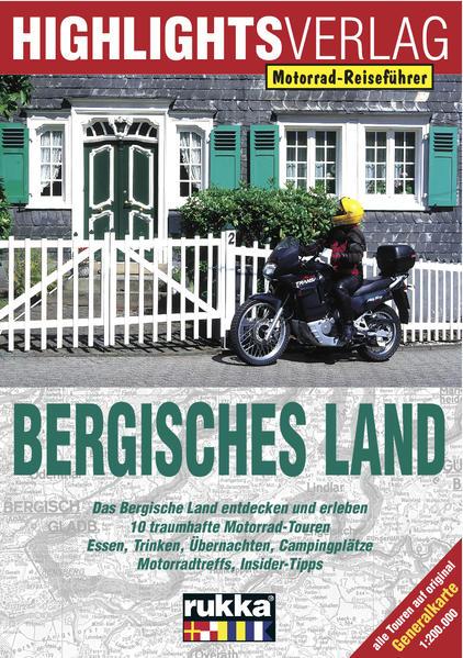 In Deutschland unterwegs: Bergisches Land als Buch