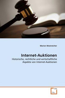 Internet-Auktionen als Buch von Marion Westreicher