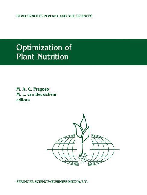 Optimization of Plant Nutrition als Buch von