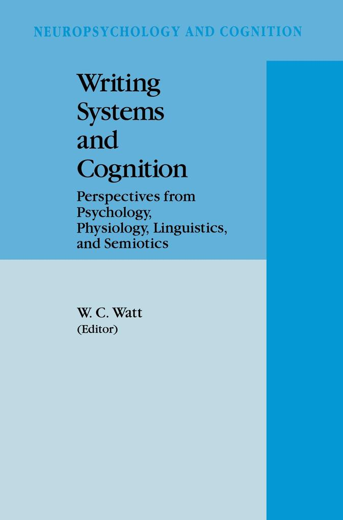 Writing Systems and Cognition als Buch von