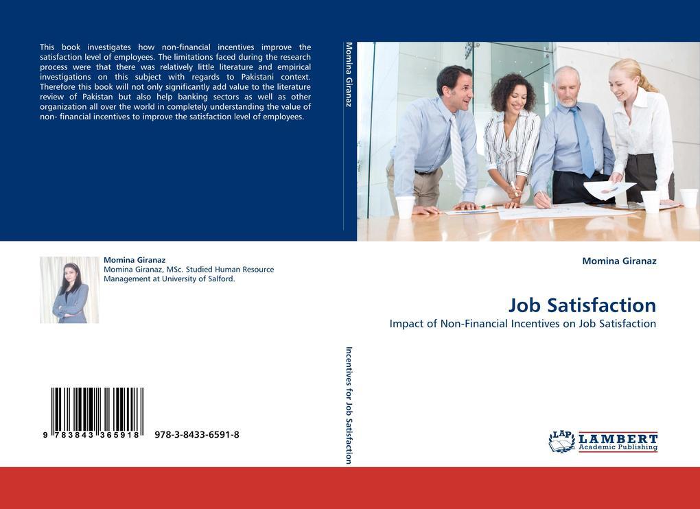 Job Satisfaction als Buch von Momina Giranaz