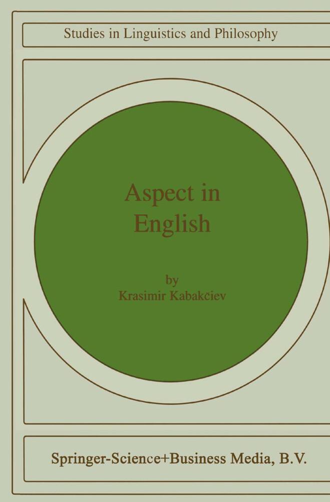 Aspect in English als Buch von K. Kabakciev - K. Kabakciev