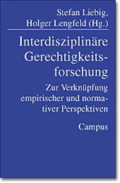 Interdisziplinäre Gerechtigkeitsforschung als Buch (gebunden)