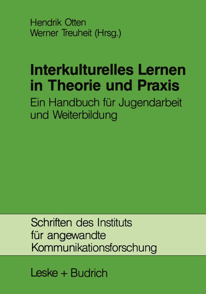 Interkulturelles Lernen in Theorie und Praxis a...
