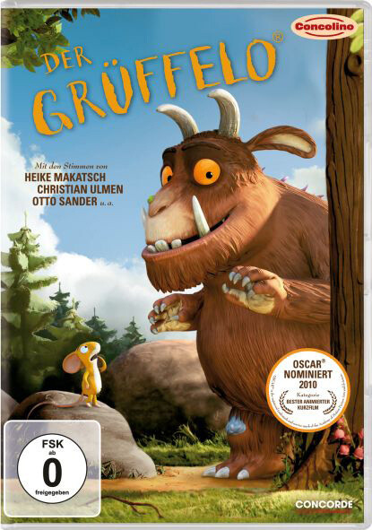 Der Grüffelo als DVD