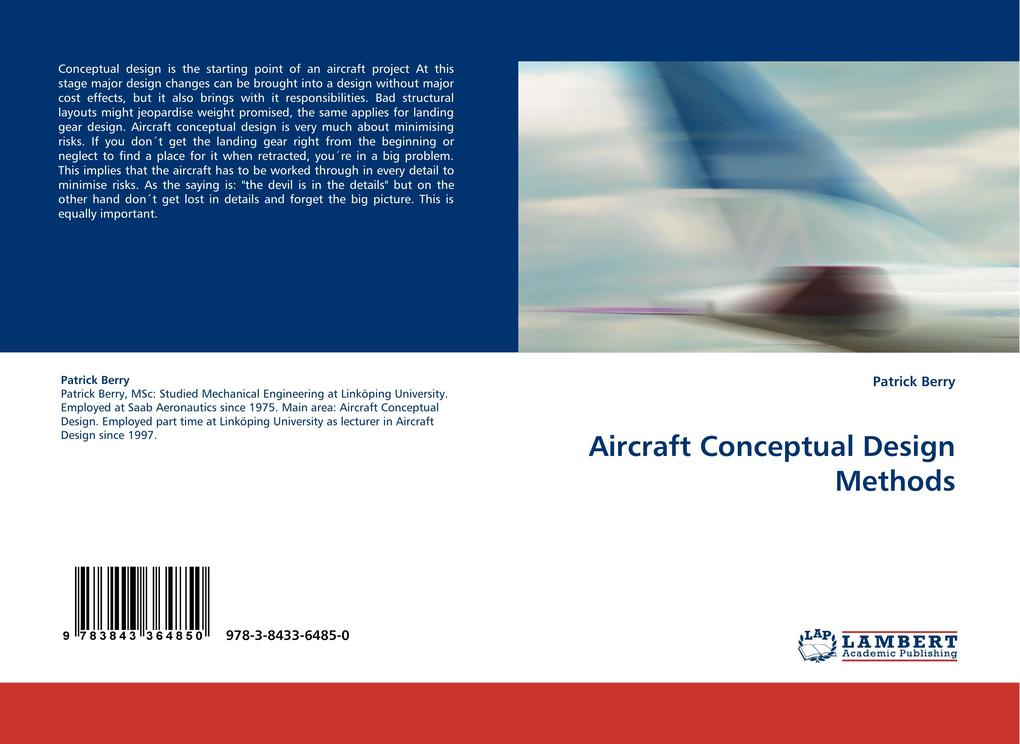 Aircraft Conceptual Design Methods als Buch von...